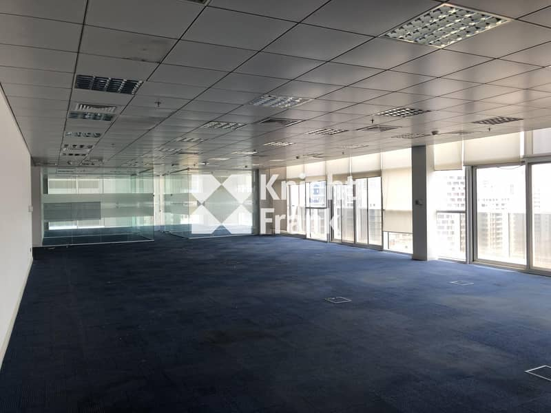 8 Fitted Office Space for Lease / Muroor Road Abu Dhabi