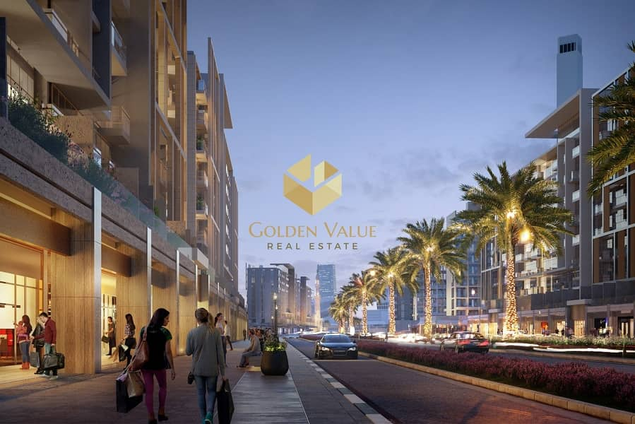 2 Invest in retail space Direct on the water canal perfect location oppsite burj khalifa