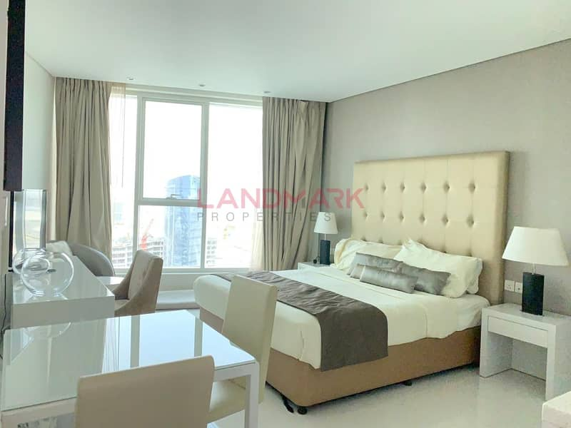2 Amazing Studio with Dubai Canal View @ 36K