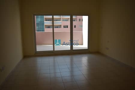 Studio for Rent in Discovery Gardens, Dubai - Hot Deal Spacious studio  with open kitchen balcony