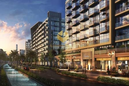 Shop for Sale in Meydan City, Dubai - Invest in retail space Direct on the water canal perfect location oppsite burj khalifa