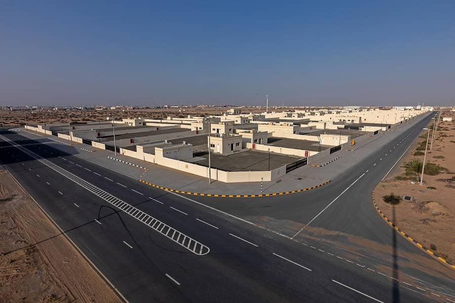 Rent @ 9 AED/sq.ft  - Open Yard with 2 Offices