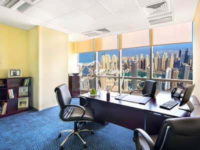 Office for Rent in Jumeirah Lake Towers (JLT), Dubai - 5- star private offices in Jumeirah Lake Towers - DMCC License