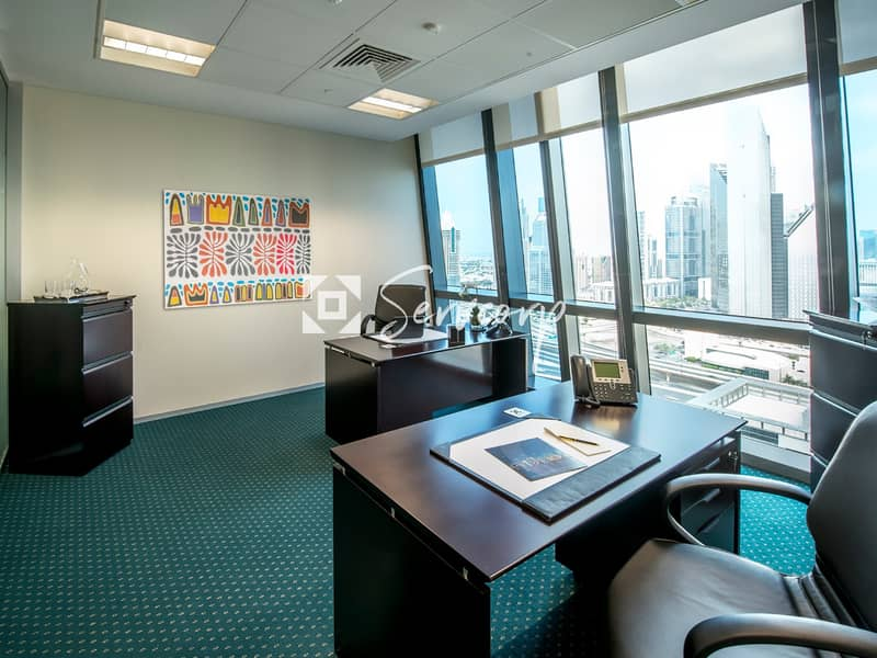Luxurious fitted offices in Boulevard Plaza