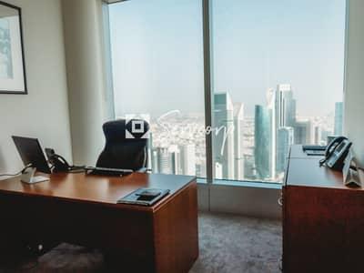 مکتب  للايجار في شارع الشيخ زايد، دبي - 5-Star Offices for rent in Emirates Towers