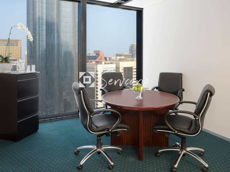 Luxurious fitted offices in World Trade Center Abu Dhabi