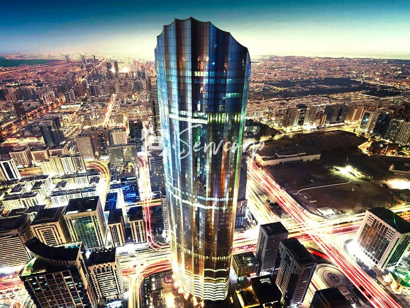 6 Luxurious fitted offices in World Trade Center Abu Dhabi