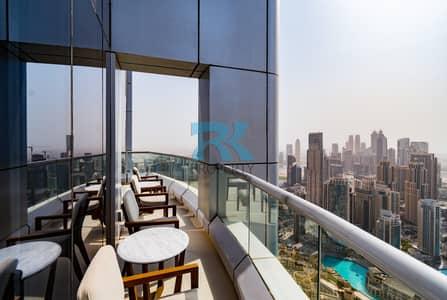 شقة 3 غرف نوم للايجار في وسط مدينة دبي، دبي - Furnished 3-Bedroom Duplex with Balcony