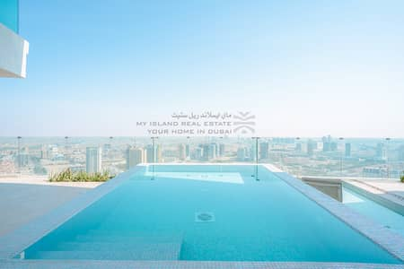 2 Bedroom Apartment for Rent in Jumeirah Village Circle (JVC), Dubai - Private pool | Mid Floor  | Ready to move in