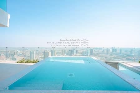 شقة 2 غرفة نوم للايجار في قرية جميرا الدائرية، دبي - Private pool | Mid Floor  | Ready to move in