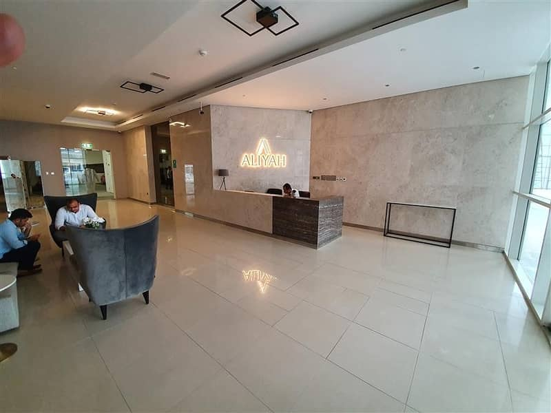 2 Fully Furnished Studio With TV Al Jaddaf AZIZI Aliyah