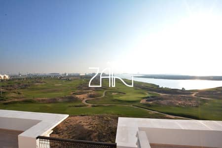 Full Golf Sea View 3+M Apt with Large Terrace For Rent