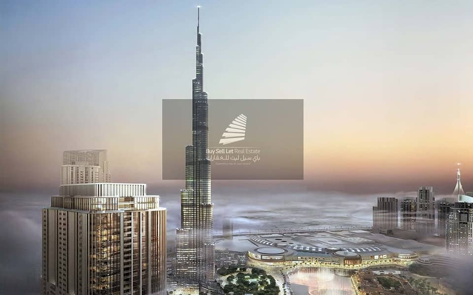 13 Stunning Burj Khalifa View | Spacious 2BR | Connected to Mall| Best Deal