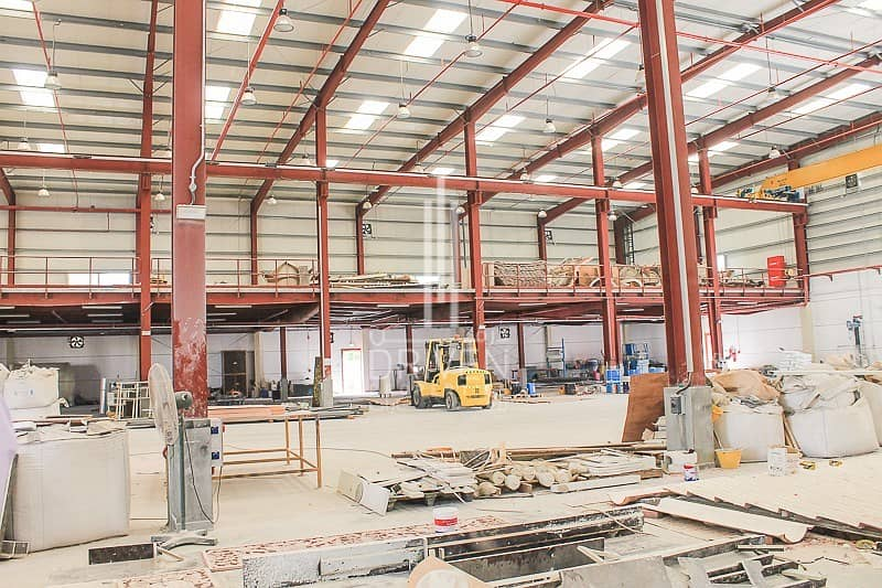 12 Spacious Fitted Space Warehouse for Sale