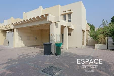 فیلا 3 غرف نوم للايجار في البحيرات، دبي - C End - Zulal - Close To Park and Pool