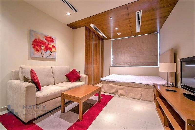 2   fully furnished studio in Spirit Tower