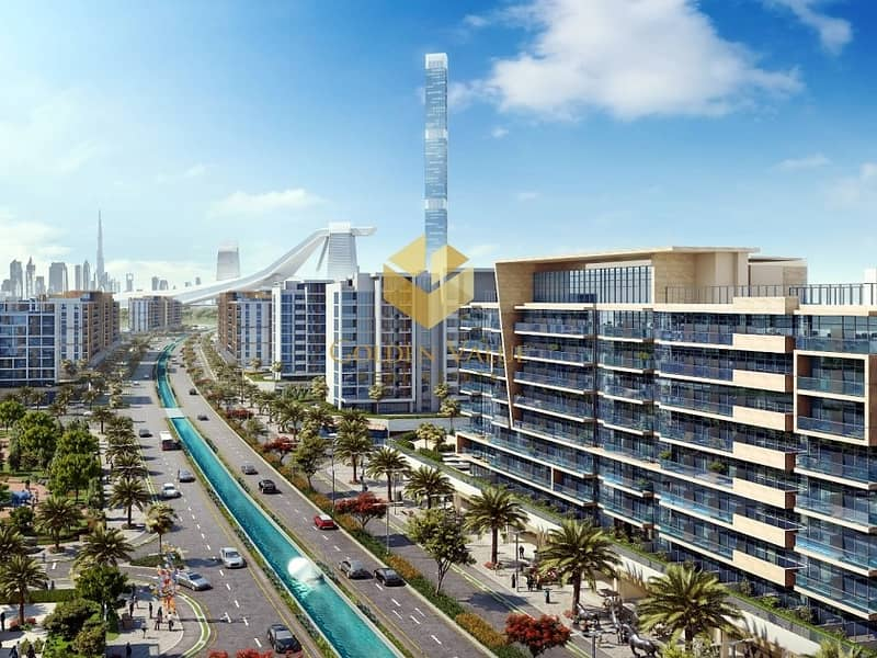 6 Invest in retail space Direct on the water canal perfect location oppsite burj khalifa
