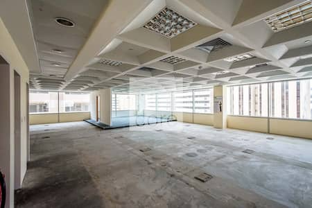 Vacant fitted office in Al Masaood for rent