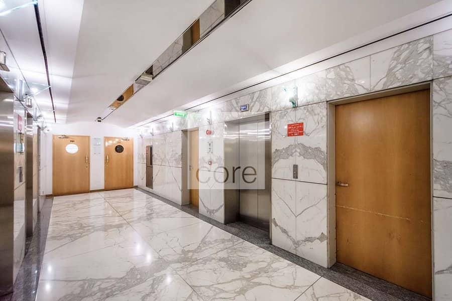 12 Vacant fitted office in Al Masaood for rent