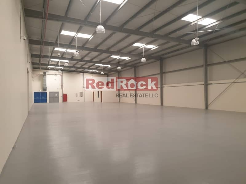 11 Semi Independent 17000 Sqft Warehouse with 80KW in Al Quoz