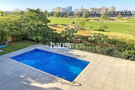 5 Bedroom Villa for Sale in Jumeirah Golf Estate, Dubai - 6 BR + Study | Golf view | No DLD | Private Pool