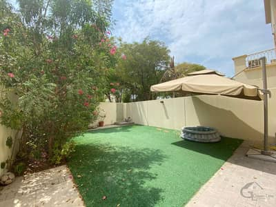 2 Bedroom Villa for Rent in The Springs, Dubai - Well Kept and maintained Type 4M in Springs 5 I Stunning View