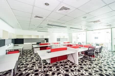 مکتب  للايجار في دبي فيستيفال سيتي، دبي - Fitted Office | Low Floor | Prime Location