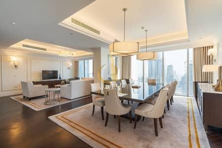شقة فندقية 4 غرف نوم للبيع في وسط مدينة دبي، دبي - Sky Collection   Where the Burj is Your Neighbour