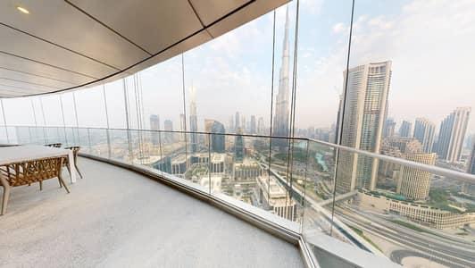 فلیٹ 3 غرف نوم للايجار في وسط مدينة دبي، دبي - Furnished | Burj Khalifa views | Flexible payments