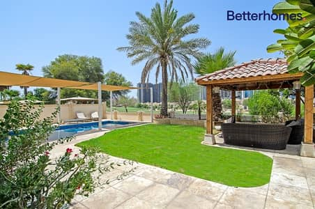 5 Bedroom Villa for Rent in Dubai Sports City, Dubai - Incredible Victory Heights property: Golf view