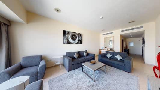 شقة 2 غرفة نوم للايجار في دبي مارينا، دبي - No commission | High floor | Sea views