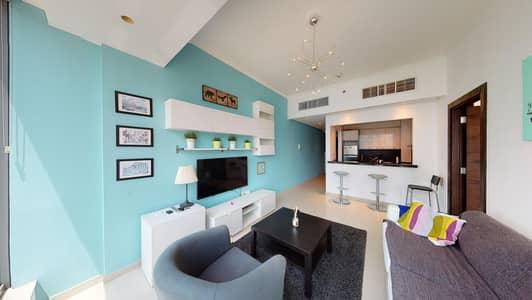 فلیٹ 1 غرفة نوم للايجار في دبي مارينا، دبي - No commission | Furnished | City views | Contactless tours