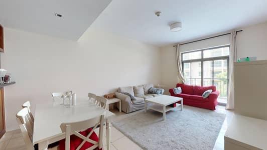 فلیٹ 1 غرفة نوم للايجار في ذا فيوز، دبي - No commission | Furnished | Chiller free