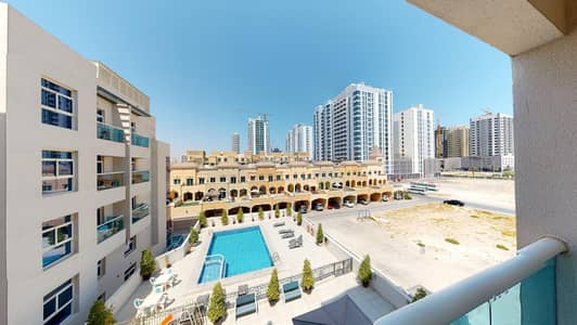 1 Bedroom Flat for Rent in Jumeirah Village Circle (JVC), Dubai - No commission | Pool views | 2-month free