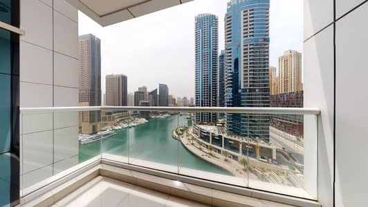 2 Bedroom Flat for Rent in Dubai Marina, Dubai - No commission | Marina view | Built-in appliances