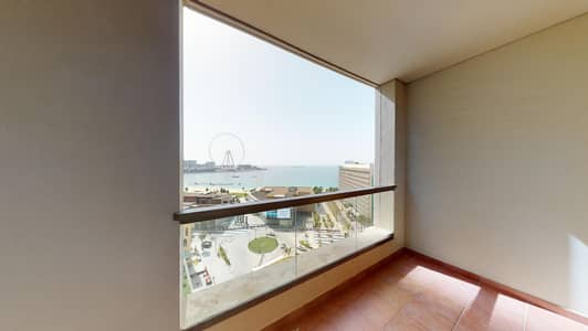 فلیٹ 3 غرف نوم للايجار في جميرا بيتش ريزيدنس، دبي - Semi-furnished | Maid's room | Monthly payments
