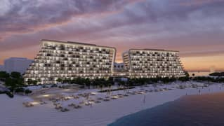 One bedroom apartment in Al Siadah development new project  (Yas Beach Residence) for sale