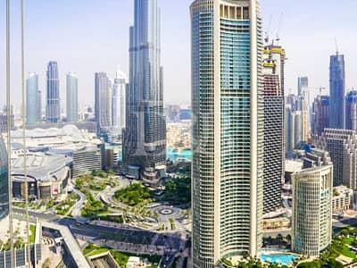 Full Burj Khhalifa and Sea View   High Floor