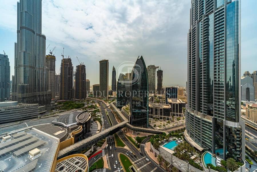 11 Iconic Living | Burj Khalifa View | Furnished