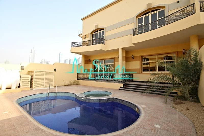 2 SPACIOUS 4 BED WITH PRIVATE POOL IN IN JUMEIRAH 1