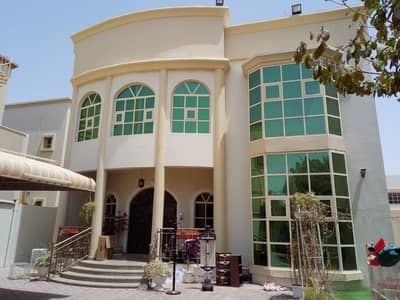 Hot Deal 5-Bedroom Villa  with Ac ,5 master rooms +maid room | prime  location for rent in Al Rawda Ajman