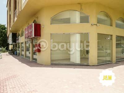 محل تجاري  للايجار في الروضة، عجمان - shop for rent | 0% commission
