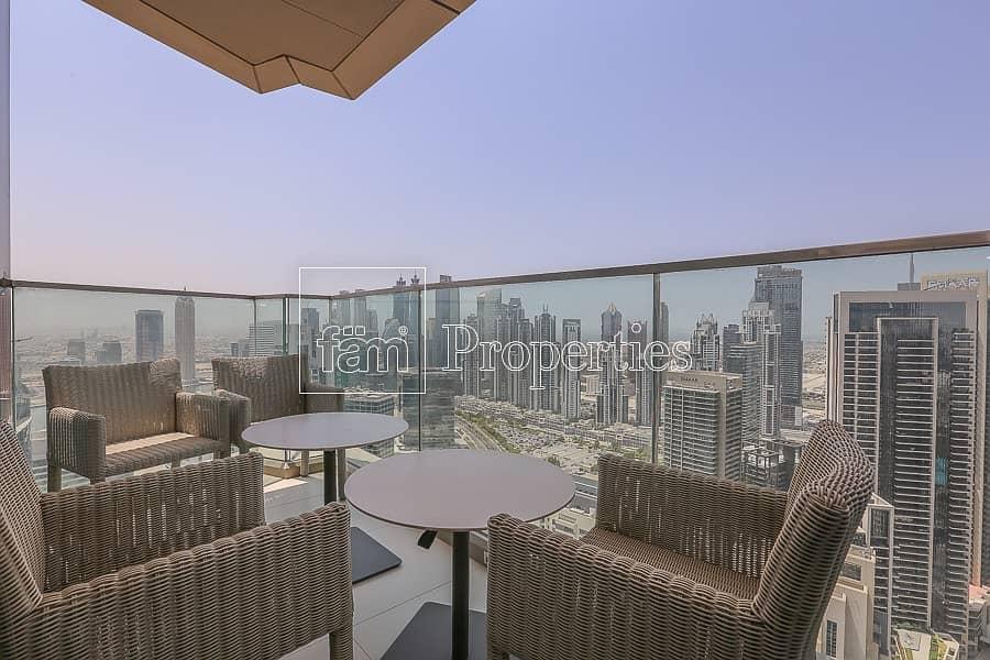 15 Brand New I High Floor I Partial Burj Khalifa View