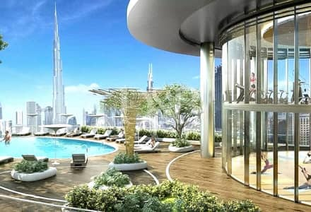 2 Bedroom Apartment for Sale in Downtown Dubai, Dubai - Post Hand-Over | Luxurious 2 BR Burj Khalifa View
