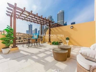 تاون هاوس 4 غرف نوم للبيع في جزر جميرا، دبي - Luxurious 4BR | Rooftop Terrace | Lake View Vacant