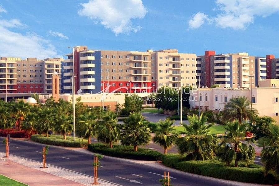 Vacant! Exceptional Type A 2 BR Apartment In Al Reef