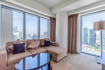 1 Bedroom Apartment for Sale in Dubai Marina, Dubai - Corner Unit | Marina View | Fully Furnished