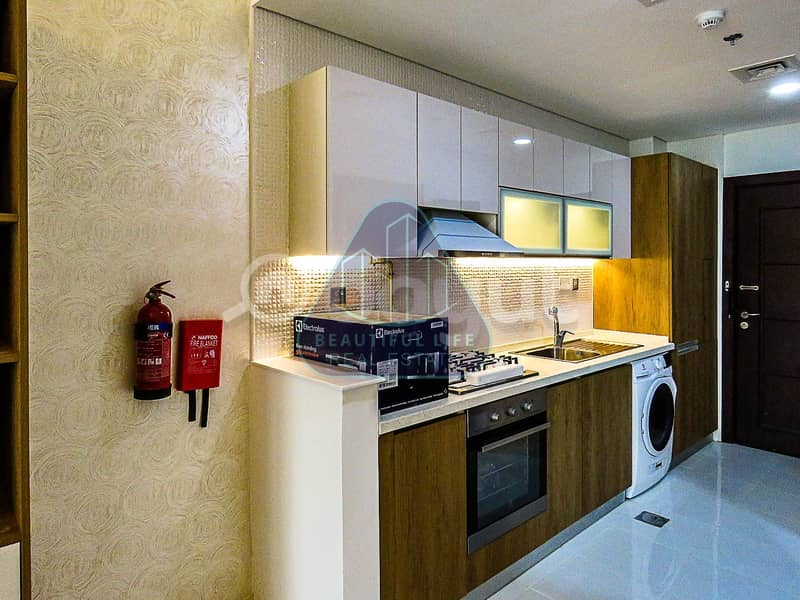 Fully Furnished | Chiller Free |Studio Apartment  with  Balcony