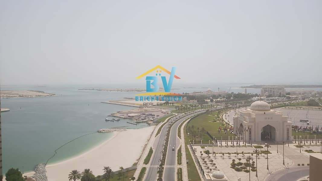Breathtaking 2 Bhk +Maids Room with Sea view in Corniche Area