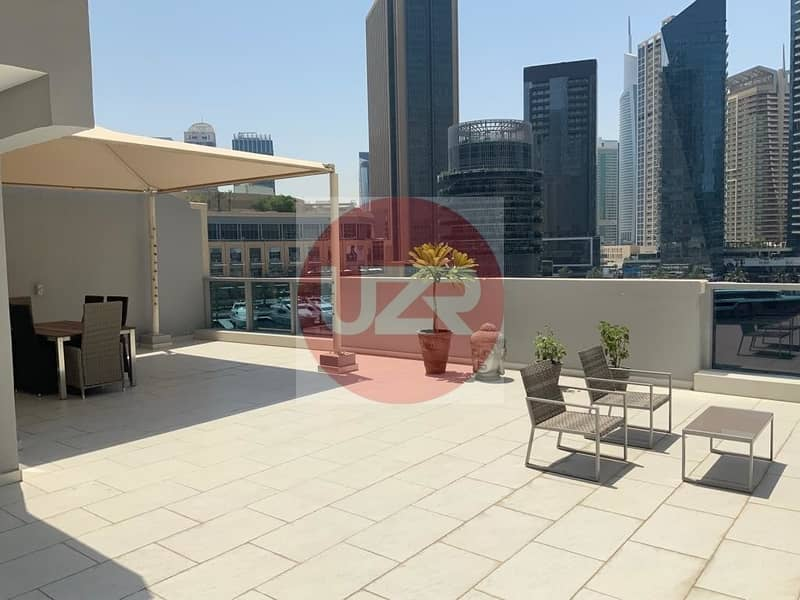 2 Amazing Views | 3 bedroom | With Terrace